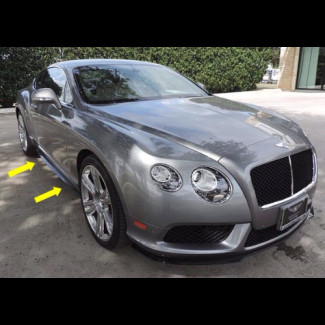 2012-2015 Bentley Continental GT Factory Style Side Skirts