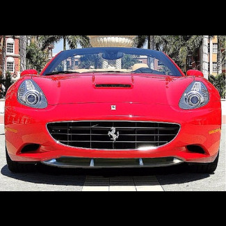 2008-2013 Ferrari California Tuner Style Front Bumper Lip Spoiler