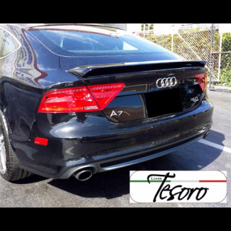 2010-2017 AUDI A7 / S7 / RS  Tesoro Style Rear Trunk Wing Spoiler