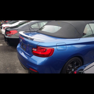 2014-2017 BMW 2-Series Coupe Euro Style 2 post Rear Wing Spoiler