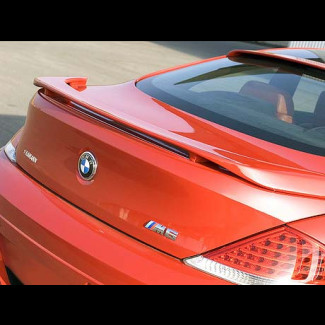 2004-2011 BMW 6-Series Coupe H-Style 3 Post Rear Wing Spoiler