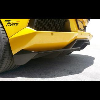 2011-2015 Lamborghini Aventador Tesoro Rear Bumper Diffuser Valance