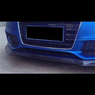 2013-2015 Audi A5 / S5 Tuner Style Front Lip Spoiler (Carbon Fiber)