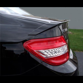 2008-2012 Mercedes C-Class Sedan B-Style 3pc Rear Lip Spoiler