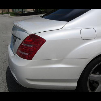 2007-2013 Mercedes S-Class Euro Style Rear Lip Spoiler