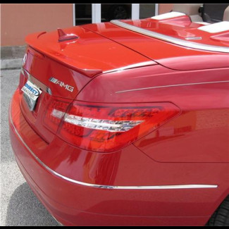 2010+ Mercedes E-Class Convertible Euro Style Rear Lip Spoiler