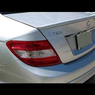 2008-2012 Mercedes C-Class Sedan Euro Style Rear Lip Spoiler
