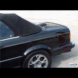 1984-1991 BMW 3-Series M3 Style Rear Lip Spoiler