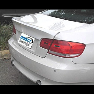 2007-2012 BMW 3-Series Coupe CSL Style Flush-Mount Rear Lip Spoiler