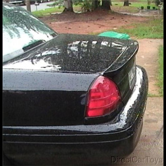 2003+ Ford Crown Victoria Factory Style Flush Mount Rear Spoiler