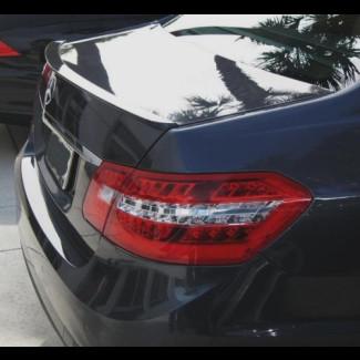 2010+ Mercedes E-Class Sedan Factory Style Rear Lip Spoiler