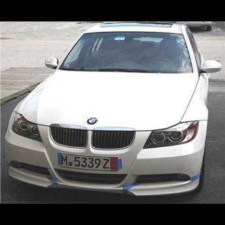 2005-2008 BMW 3-Series Sedan M-Tech Style 2pc Front Splitters
