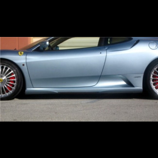 2005-2009 Ferrari F430 H-Style 4pc Side Skirts
