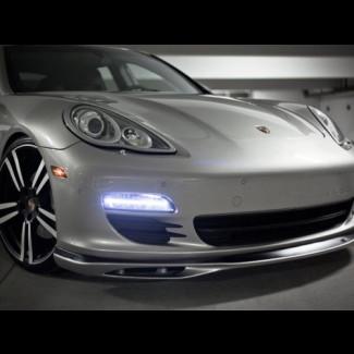 2010-2013 Porsche Panamera Euro Style Front Bumper Lip Spoiler