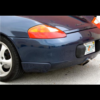1997-2004 Porsche Boxster Aero Cup Style 2pc Side Rear Bumper Skirts
