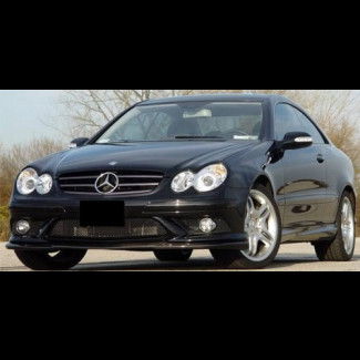 2008-2009 Mercedes CLK Euro Style Front Lip Spoiler