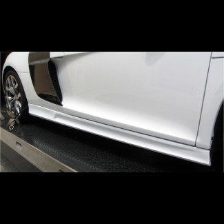 2008-2010 Audi R8 Euro Style Side Skirts