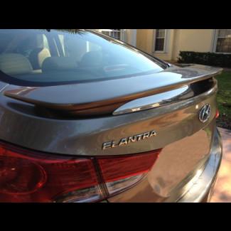 2011-2012 Hyundai Elantra Euro Style  Rear Wing Spoiler