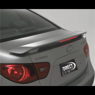 2007-2010 Hyundai Elantra Factory Style  Rear Wing Spoiler w/Light