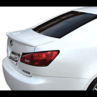 2006-2011 Lexus IS Sedan Factory Style Rear Lip Spoiler