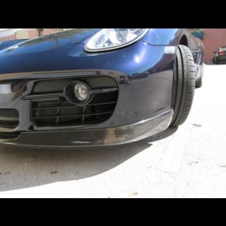 2005-2008 Porsche Cayman Real Carbon Fiber Euro Style Front Lip Spoiler