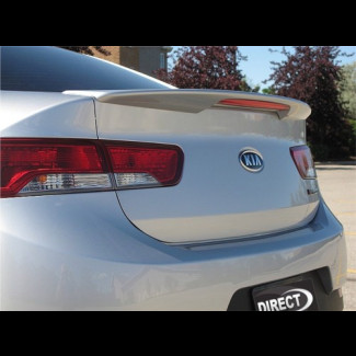 2010-2012 KIA Forte Koup Factory Type R Rear Lip Spoiler w/Light
