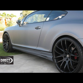 2005-2011 Bentley Continental GT Euro Style Side Skirts