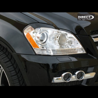 2007-2012 Mercedes GL Euro Style Headlight Eyebrows