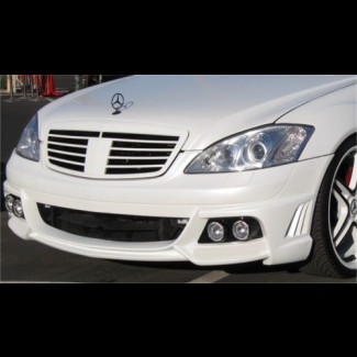 2007-2012 Mercedes S-Class W-Style Front Bumper