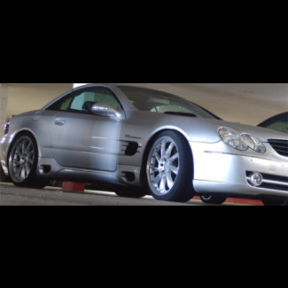 2002-2011 Mercedes SL L-Style Side Skirts
