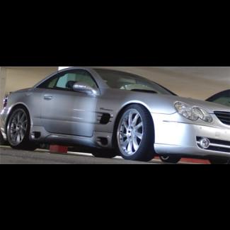 2002-2011 Mercedes SL L-Style Side Skirts