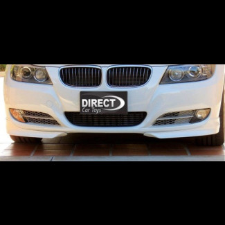 2009-2012 BMW 3-Series Sedan LCI Style 2pc Front Splitters