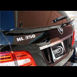 2011-2014 Mercedes ML Euro Style Rear Hatch Lip Spoiler
