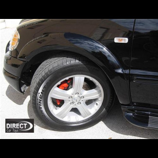 1997-2005 Mercedes ML Factory Style 4pc AMG Fender Flare Set