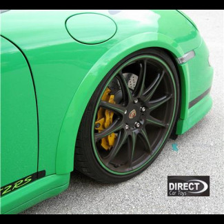 2005-2011 Porsche 911 / 997 GT3 RS Style 4pc Front Fender Flare (Set)