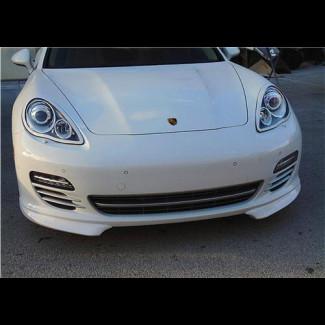 2010-2013 Porsche Panamera GTS Style 2pc Front Lip Spoilers