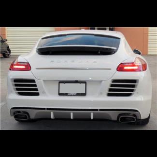 2010-2013 Porsche Panamera A-Style Rear Bumper Cover