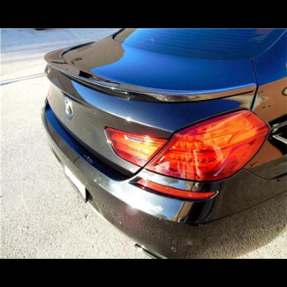 2012-2017 BMW 6-Series Gran Coupe LT Style Rear Lip Spoiler
