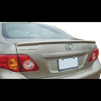 2009-2010 Toyota Corolla Factory Style Rear Lip Spoiler