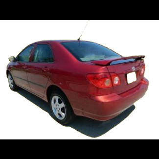 2003-2008 Toyota Corolla Factory Style Rear Wing Spoiler w/Light
