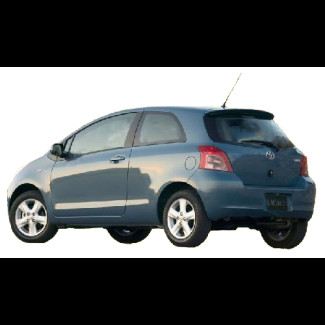 2006-2011 Toyota Yaris Factory Style Roof Spoiler