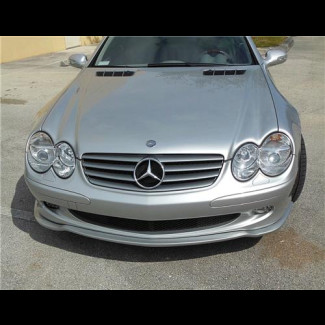2002-2006 Mercedes SL Tuner Style Front Lip Spoiler