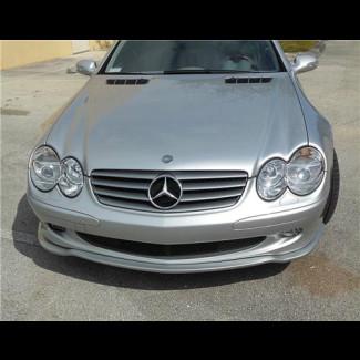 2002-2006 Mercedes SL Tuner Style Front Lip Spoiler