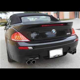 2007-2011 BMW 6-Series Cabrio LT Rear Lip Spoiler