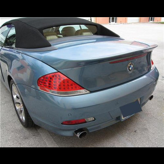 2004-2007 BMW 6-Series Cabrio Tuner Style Rear Lip Spoiler
