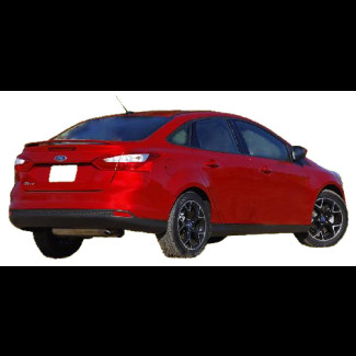 2012-2015 Ford Focus Factory Style Rear Wing Spoiler