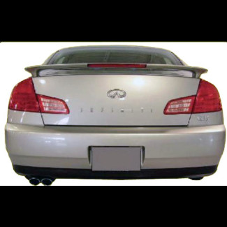 2003-2006 Infiniti G35 Sedan Factory Style Rear Wing Spoiler w/Light