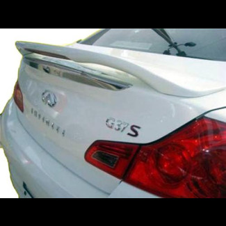 2009-2012 Infiniti G37 Sedan Factory Style Rear Wing Spoiler w/Light