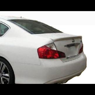 2008-2010 Infiniti M35/45 Factory Style Rear Lip Spoiler