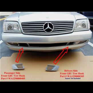 1997-2002 Mercedes SL AMG  R129 Front Bumper Grill / Tow Hook